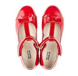 Детские туфли Woopy Orthopedic красные для девочек натуральная кожа размер 34-36 (4269) Фото 5
