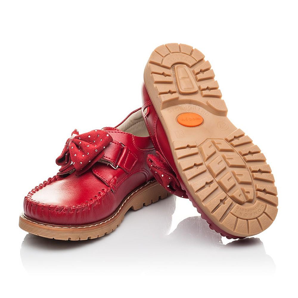 Детские туфли Woopy Orthopedic красные для девочек натуральная кожа размер 25-34 (4271) Фото 2