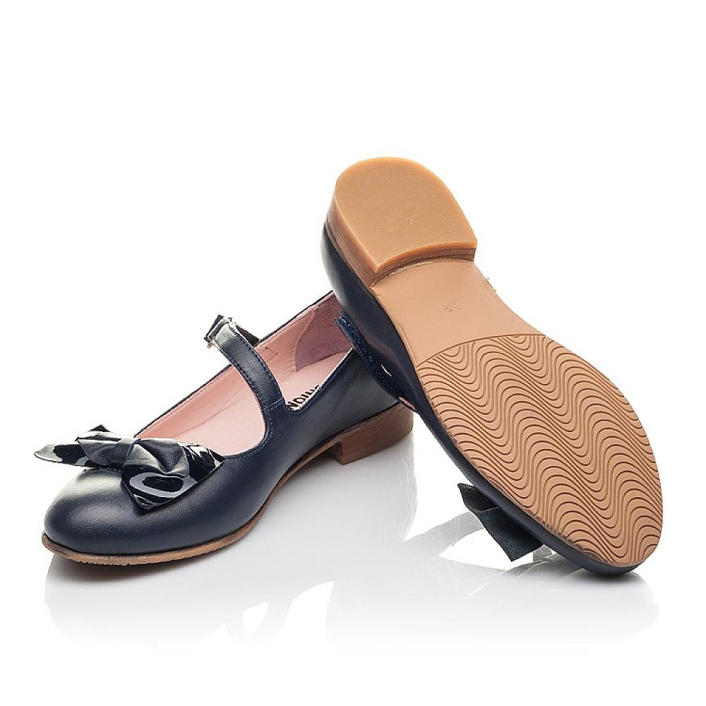 Детские туфли Woopy Orthopedic синие для девочек натуральная кожа размер 30-39 (4274) Фото 2