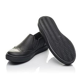 Детские туфлі Woopy Orthopedic черные для мальчиков натуральная кожа размер 31-38 (4281) Фото 2