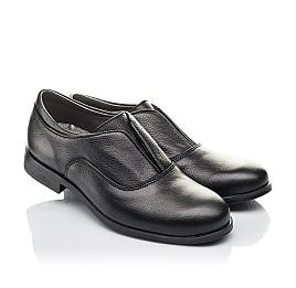Детские туфли Woopy Orthopedic черные для мальчиков натуральная кожа размер 33-39 (4282) Фото 1