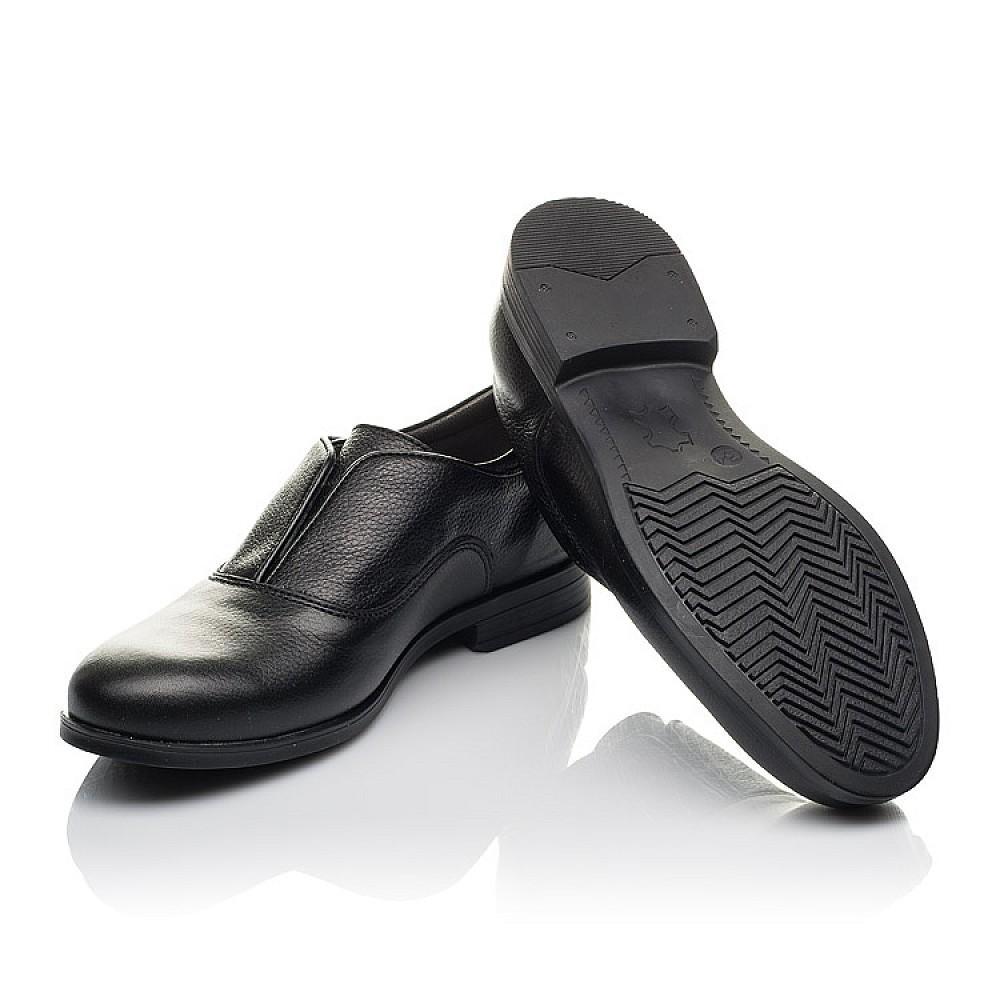 Детские туфли Woopy Orthopedic черные для мальчиков натуральная кожа размер 33-39 (4282) Фото 2