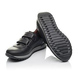 Детские кроссовки Woopy Orthopedic черные для мальчиков натуральная кожа размер 32-35 (4284) Фото 2