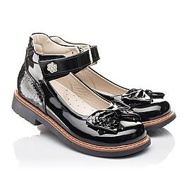 Детские туфлі Woopy Fashion черные для девочек натуральная лаковая кожа размер 29-36 (4289) Фото 1