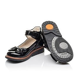 Детские туфлі Woopy Fashion черные для девочек натуральная лаковая кожа размер 29-36 (4289) Фото 2