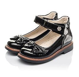 Детские туфлі Woopy Fashion черные для девочек натуральная лаковая кожа размер 29-36 (4289) Фото 3