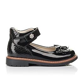 Детские туфлі Woopy Fashion черные для девочек натуральная лаковая кожа размер 29-36 (4289) Фото 4