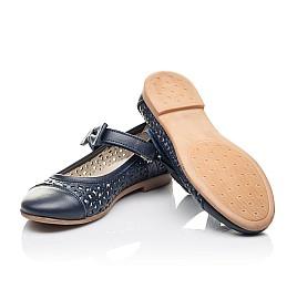 Детские туфли Woopy Fashion синие для девочек натуральная кожа размер 28-36 (4290) Фото 2