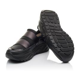 Детские кроссовки Woopy Fashion черные для девочек натуральная кожа, искусственный материал  размер 36-40 (4293) Фото 2