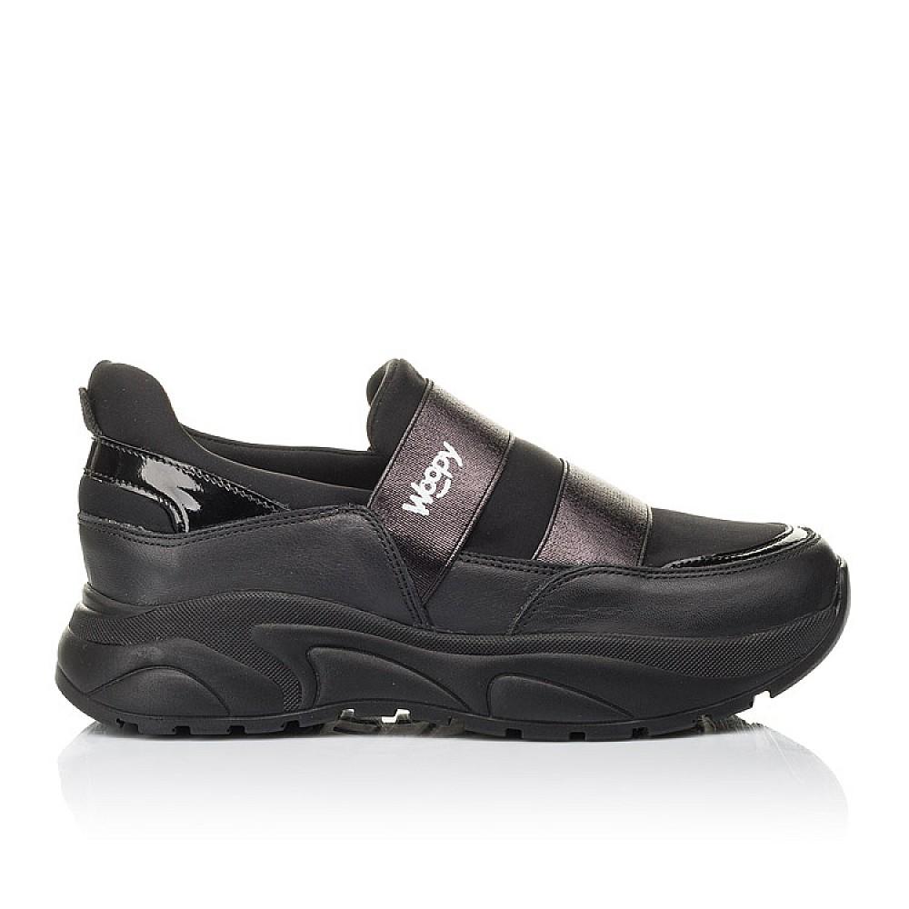Детские кроссовки Woopy Fashion черные для девочек натуральная кожа, искусственный материал размер 33-40 (4293) Фото 4