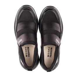 Детские кроссовки Woopy Fashion черные для девочек натуральная кожа, искусственный материал  размер 36-40 (4293) Фото 5