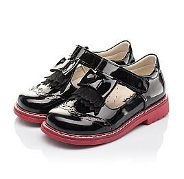 Детские туфли Woopy Fashion черные для девочек натуральная лаковая кожа размер 27-33 (4296) Фото 3