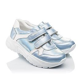 Детские кроссовки Woopy Fashion голубые для девочек натуральная кожа размер 26-31 (4300) Фото 1