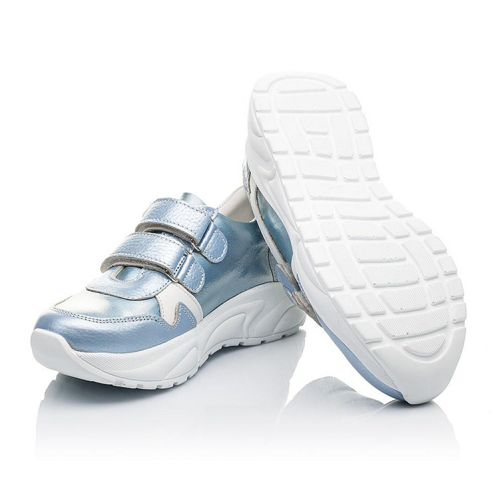 Детские кроссовки Woopy Fashion голубые для девочек натуральная кожа размер 26-36 (4300) Фото 2