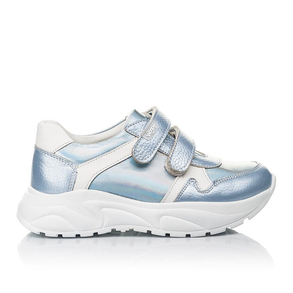 Детские кроссовки Woopy Fashion голубые для девочек натуральная кожа размер 26-36 (4300) Фото 4