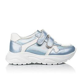 Детские кроссовки Woopy Fashion голубые для девочек натуральная кожа размер 26-31 (4300) Фото 4
