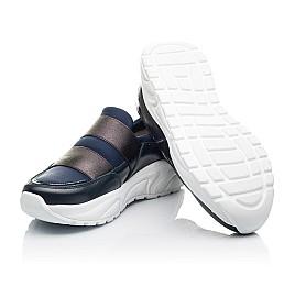 Детские кроссовки Woopy Fashion синие для девочек натуральная кожа, искусственный материал  размер 33-40 (4301) Фото 2