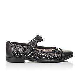 Детские туфли Woopy Fashion черные для девочек натуральная кожа размер 28-36 (4309) Фото 4