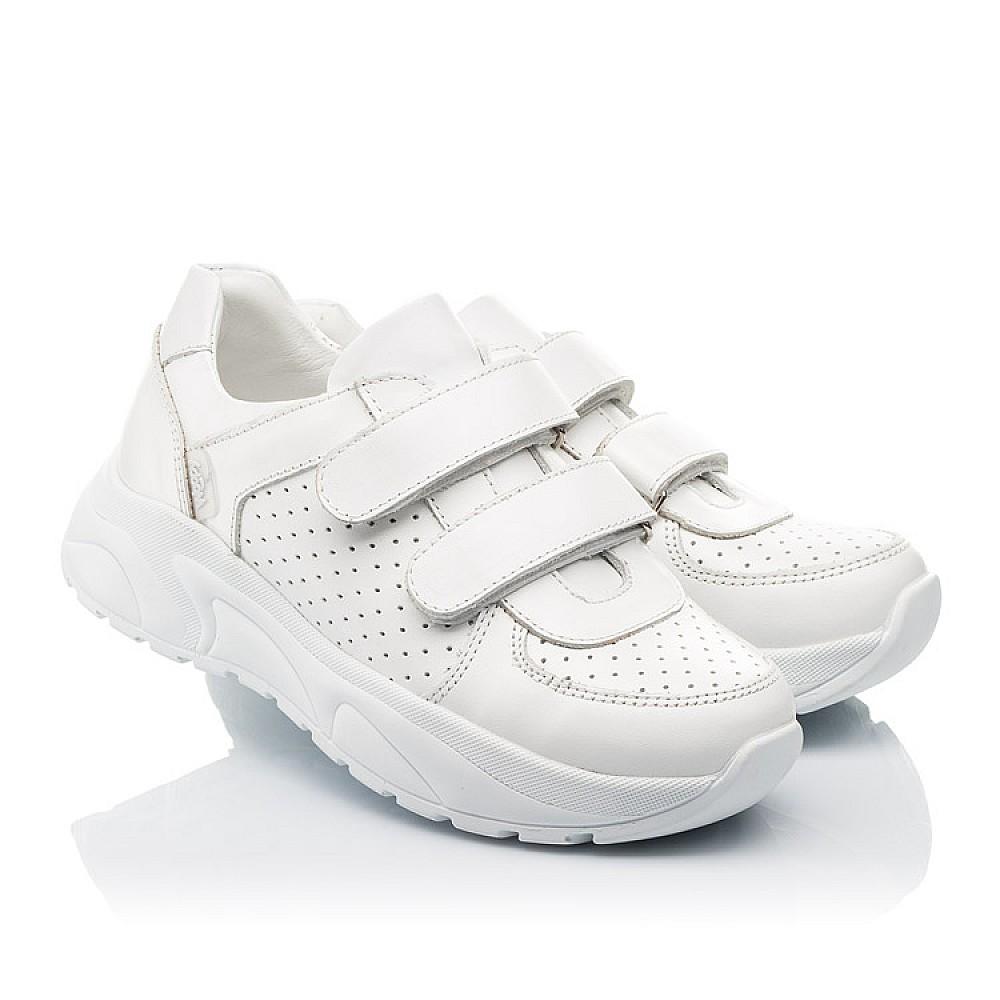Детские кроссовки Woopy Fashion белые для девочек натуральная кожа размер 30-40 (4310) Фото 1
