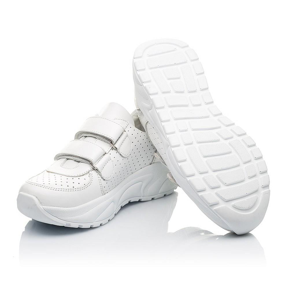 Детские кроссовки Woopy Fashion белые для девочек натуральная кожа размер 30-40 (4310) Фото 2
