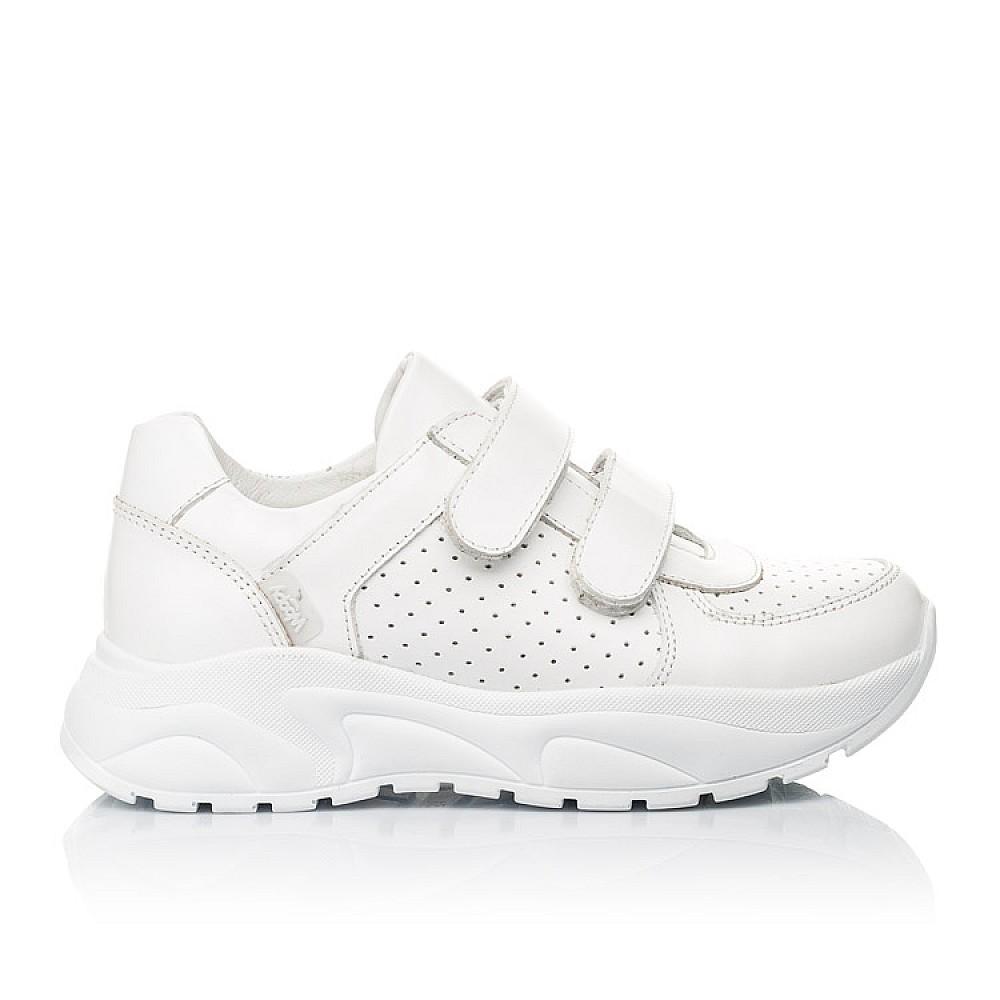 Детские кроссовки Woopy Fashion белые для девочек натуральная кожа размер 30-40 (4310) Фото 4