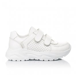 Детские кроссовки Woopy Fashion белые для девочек натуральная кожа размер 40-40 (4310) Фото 4