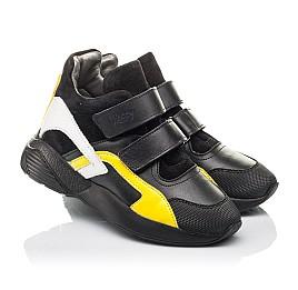 Детские демисезонные ботинки Woopy Fashion черные для мальчиков натуральная кожа размер 37-37 (4314) Фото 1