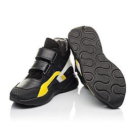 Детские демисезонные ботинки Woopy Fashion черные для мальчиков натуральная кожа размер 37-37 (4314) Фото 2