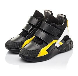 Детские демисезонные ботинки Woopy Fashion черные для мальчиков натуральная кожа размер 37-37 (4314) Фото 3