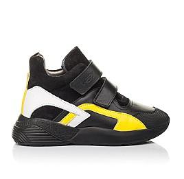 Детские демисезонные ботинки Woopy Fashion черные для мальчиков натуральная кожа размер 37-37 (4314) Фото 4