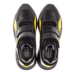 Детские демисезонные ботинки Woopy Fashion черные для мальчиков натуральная кожа размер 37-37 (4314) Фото 5