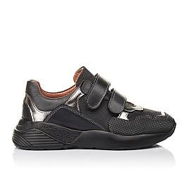 Детские кроссовки Woopy Fashion черные для мальчиков натуральный нубук размер 31-36 (4317) Фото 4
