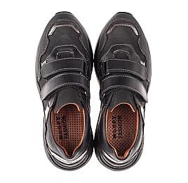 Детские кроссовки Woopy Fashion черные для мальчиков натуральный нубук размер 31-36 (4317) Фото 5