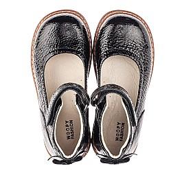 Детские туфли Woopy Fashion черные для девочек натуральная лаковая кожа размер 36-36 (4320) Фото 5