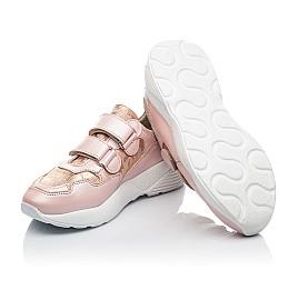 Детские кроссовки Woopy Fashion розовые для девочек натуральная кожа размер 29-39 (4324) Фото 2