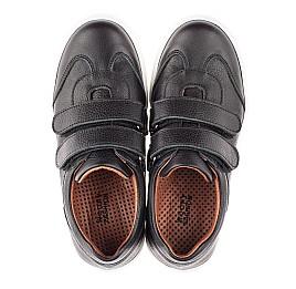 Детские кеды Woopy Fashion черные для девочек натуральная кожа размер 36-36 (4331) Фото 5