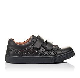 Детские кросівки Woopy Fashion черные для девочек натуральная кожа размер 29-31 (4341) Фото 4