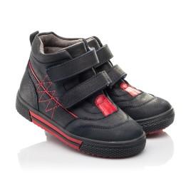 Детские демисезонные ботинки Woopy Fashion темно-синие для мальчиков натуральный нубук размер 22-22 (4360) Фото 1