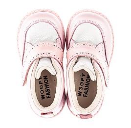 Детские  Woopy Fashion розовые для девочек натуральная кожа и нубук размер 20-28 (4365) Фото 5