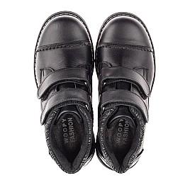 Детские  Woopy Fashion черные для девочек натуральная кожа размер 30-39 (4370) Фото 5
