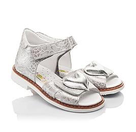 Детские босоножки Woopy Fashion белый для девочек натуральный нубук размер 28-36 (4377) Фото 1