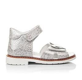 Детские босоножки Woopy Fashion белый для девочек натуральный нубук размер 28-36 (4377) Фото 4