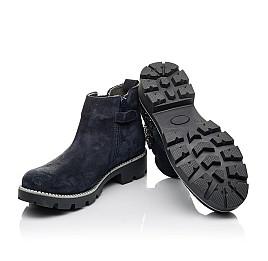 Детские демісезонні черевики Woopy Fashion синие для девочек натуральная замша, текстиль размер 39-39 (4379) Фото 2