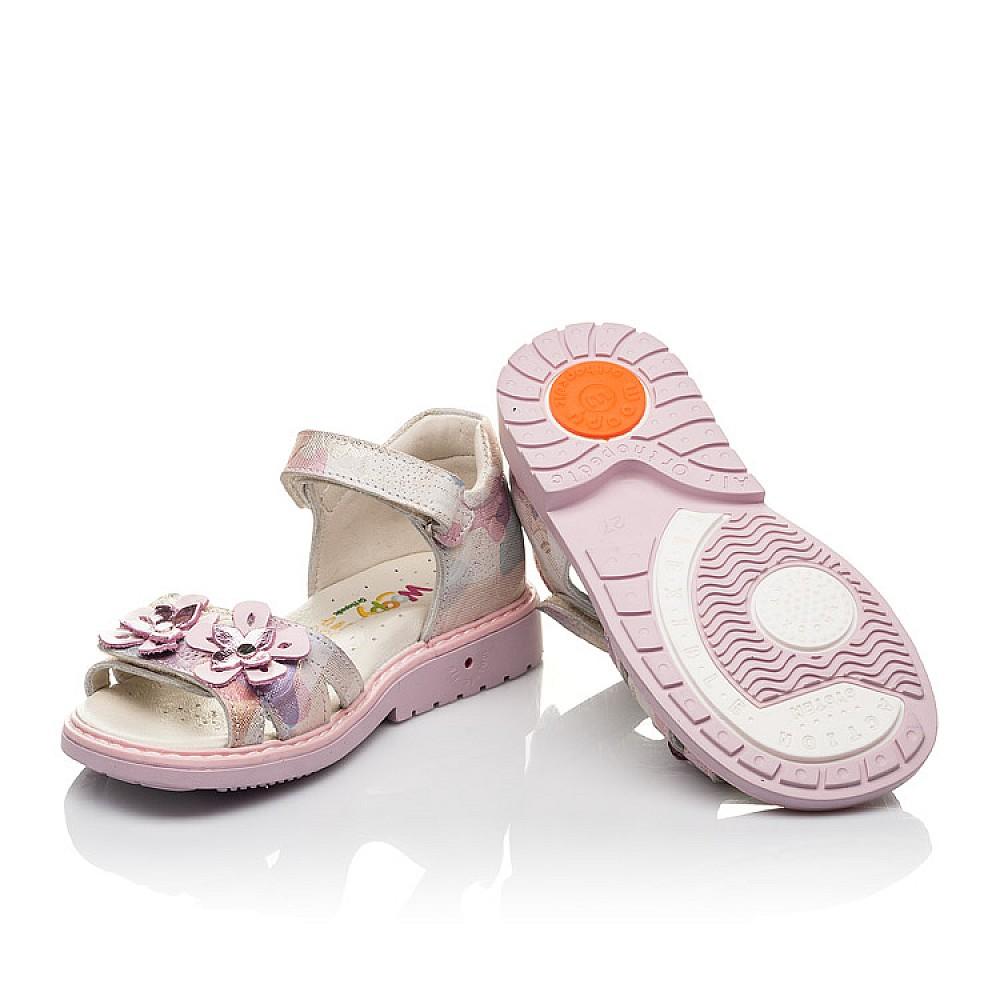 Детские босоножки Woopy Fashion розовые для девочек натуральный нубук размер 27-36 (4380) Фото 2