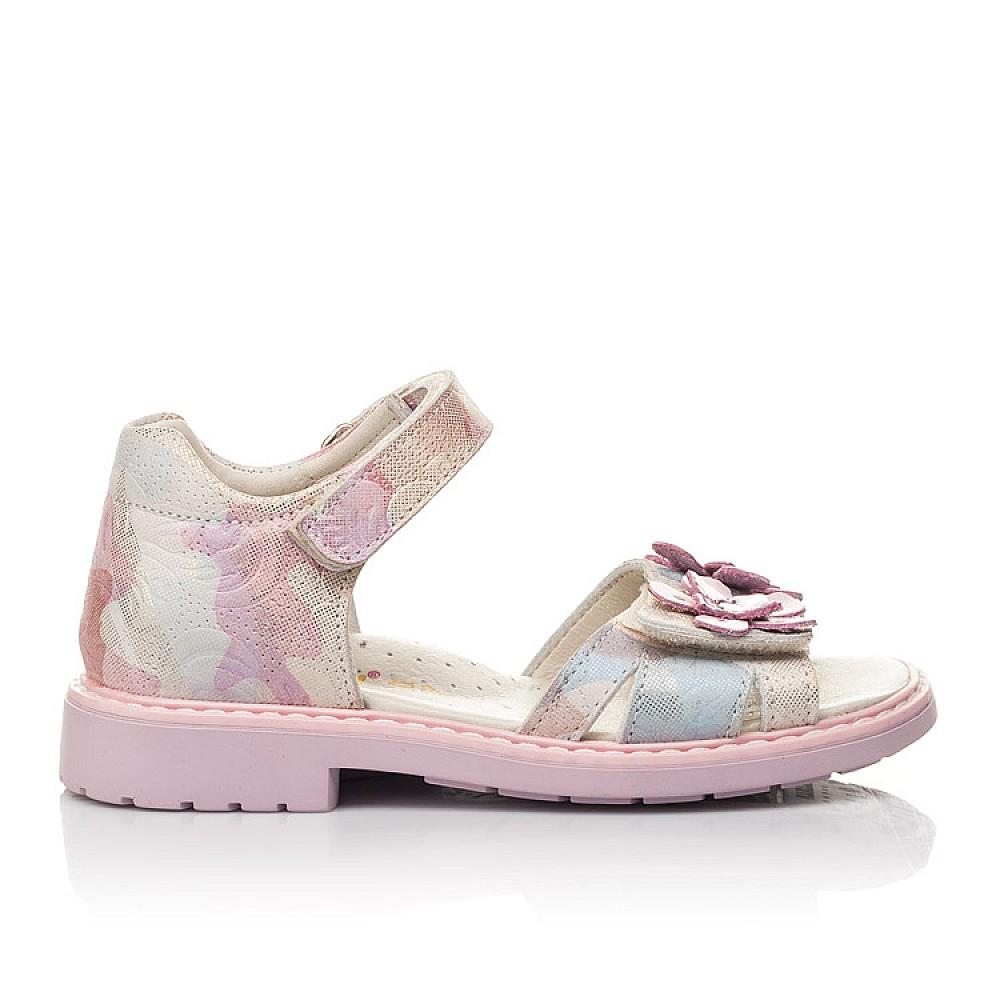 Детские босоножки Woopy Fashion розовые для девочек натуральный нубук размер 27-36 (4380) Фото 4