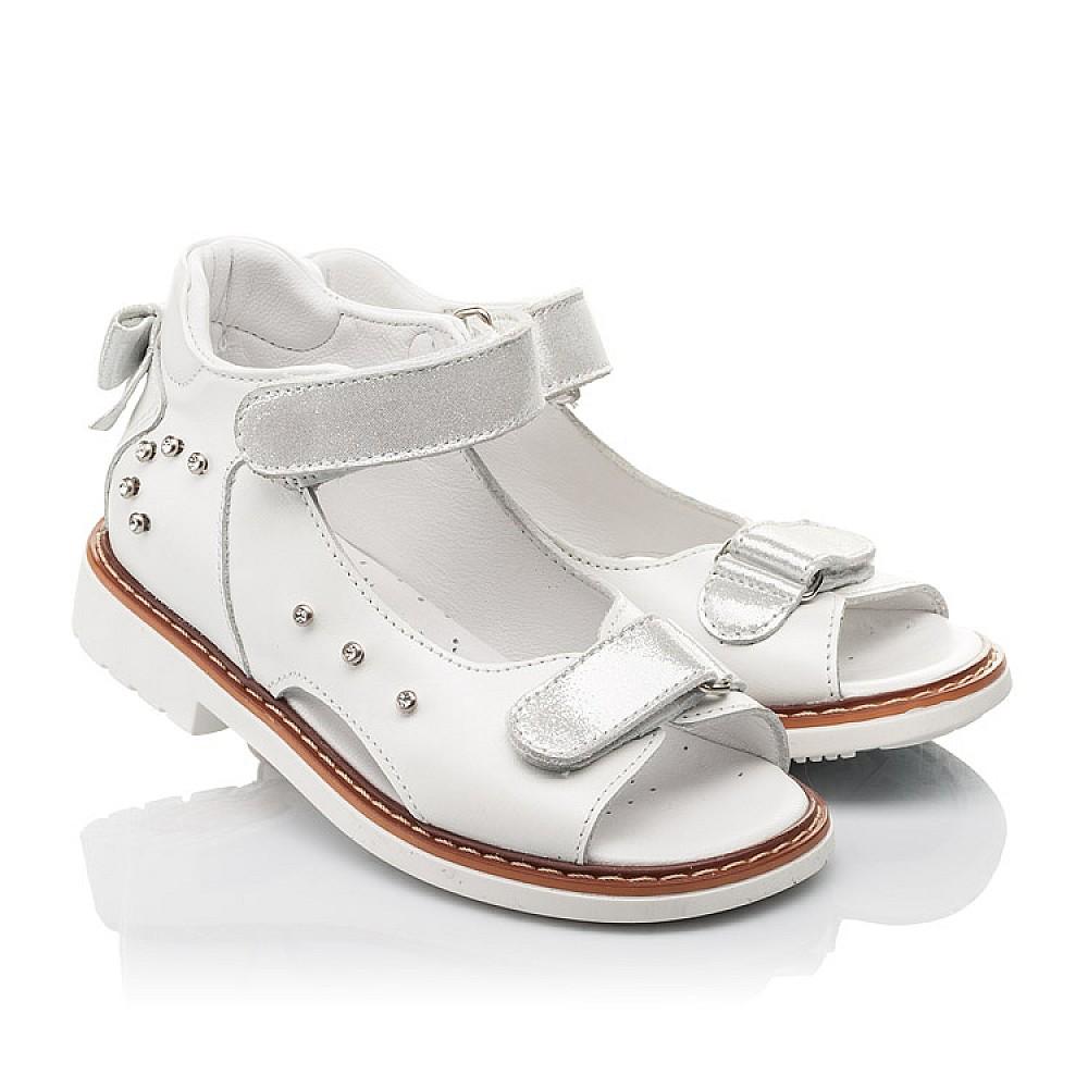 Детские босоножки Woopy Fashion белые для девочек натуральная кожа размер 27-36 (4381) Фото 1