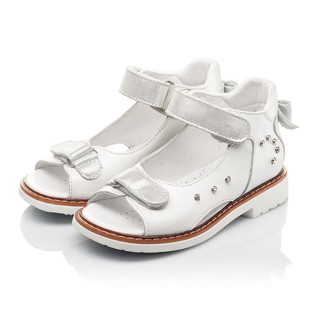 Детские босоножки Woopy Fashion белые для девочек натуральная кожа размер 27-36 (4381) Фото 3