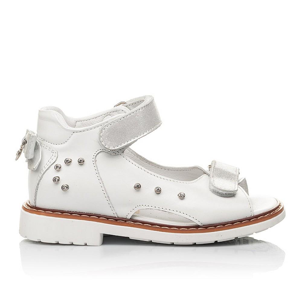 Детские босоножки Woopy Fashion белые для девочек натуральная кожа размер 27-36 (4381) Фото 4
