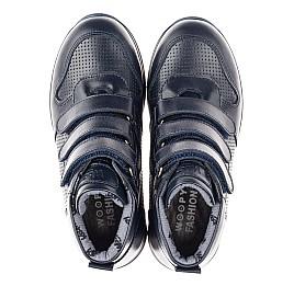 Детские демисезонные ботинки Woopy Orthopedic синие для мальчиков натуральная кожа размер 26-40 (4385) Фото 5