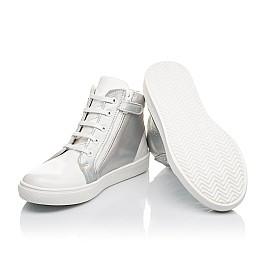 Детские  Woopy Fashion белые для девочек натуральная кожа / лаковая кожа размер 31-36 (4395) Фото 5